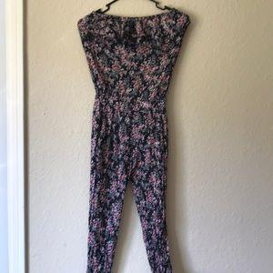 Lf floral jumpsuit